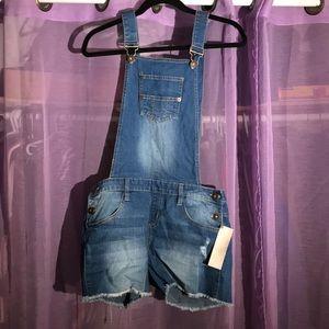Urban Basics short overalls